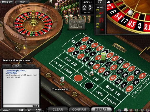 Europeisk roulette 60670
