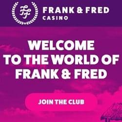 Omsättningsfria freespins Frank casino 64507