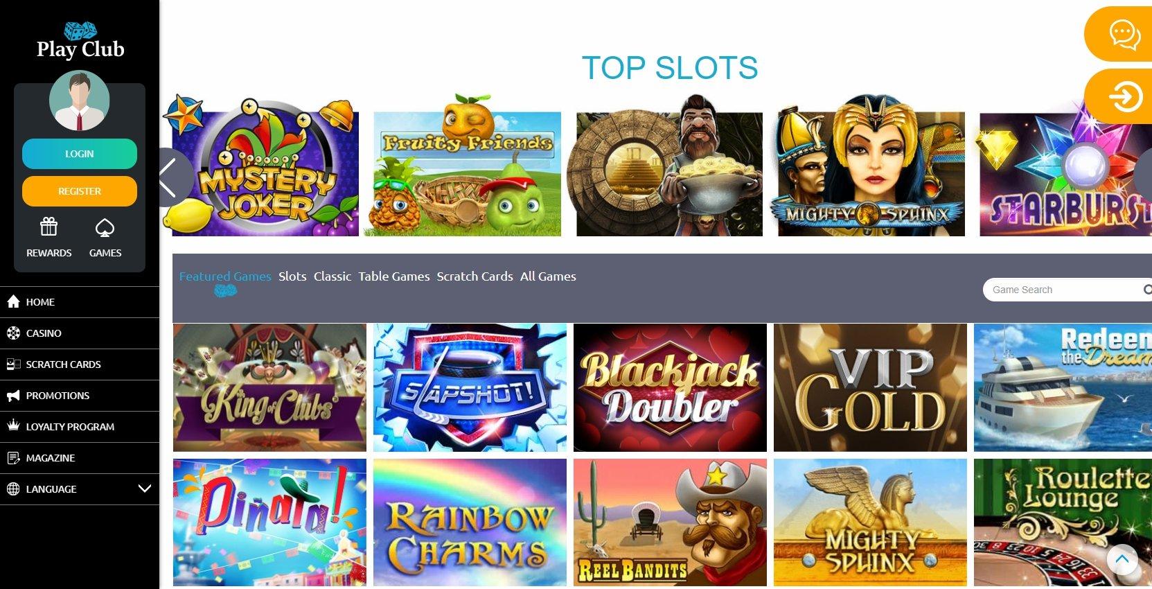 Com login PlayClub casino 39678