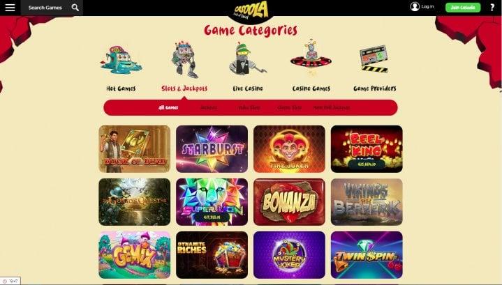 Klassiska casinospel Cadoola casino 55569