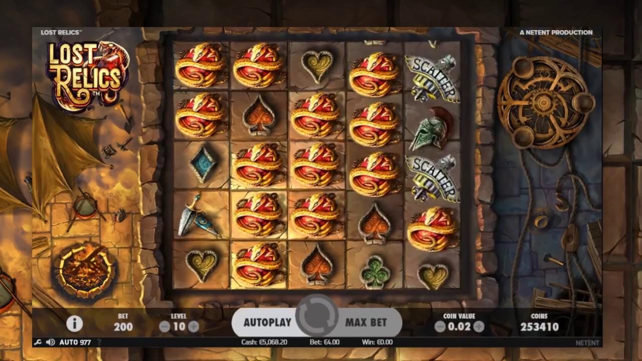 Lost Relics Slot 32416
