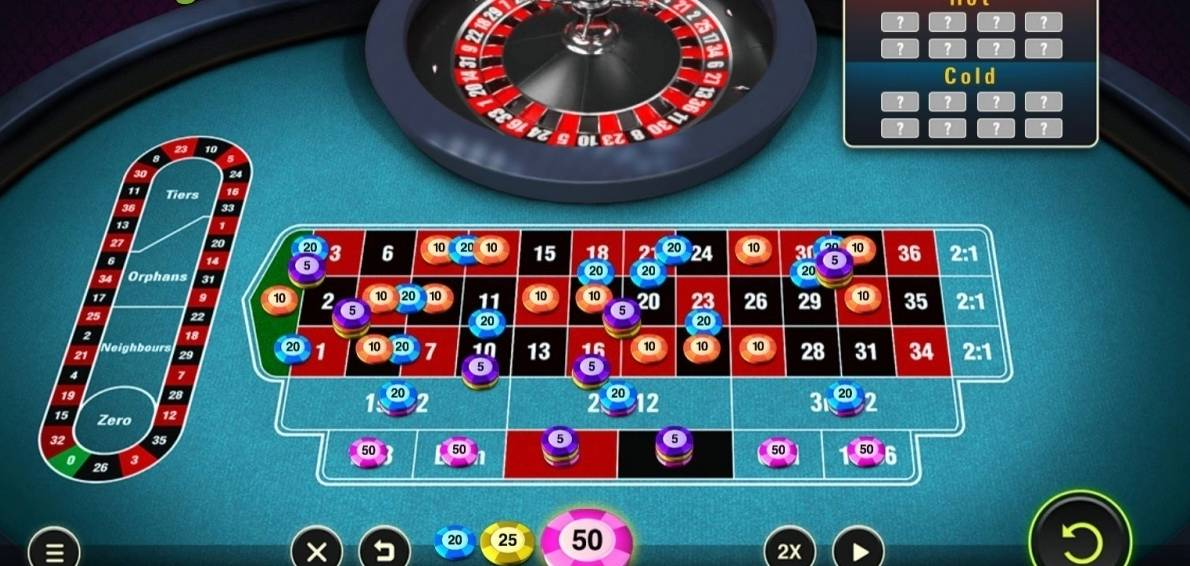 Roulette system svart 52615