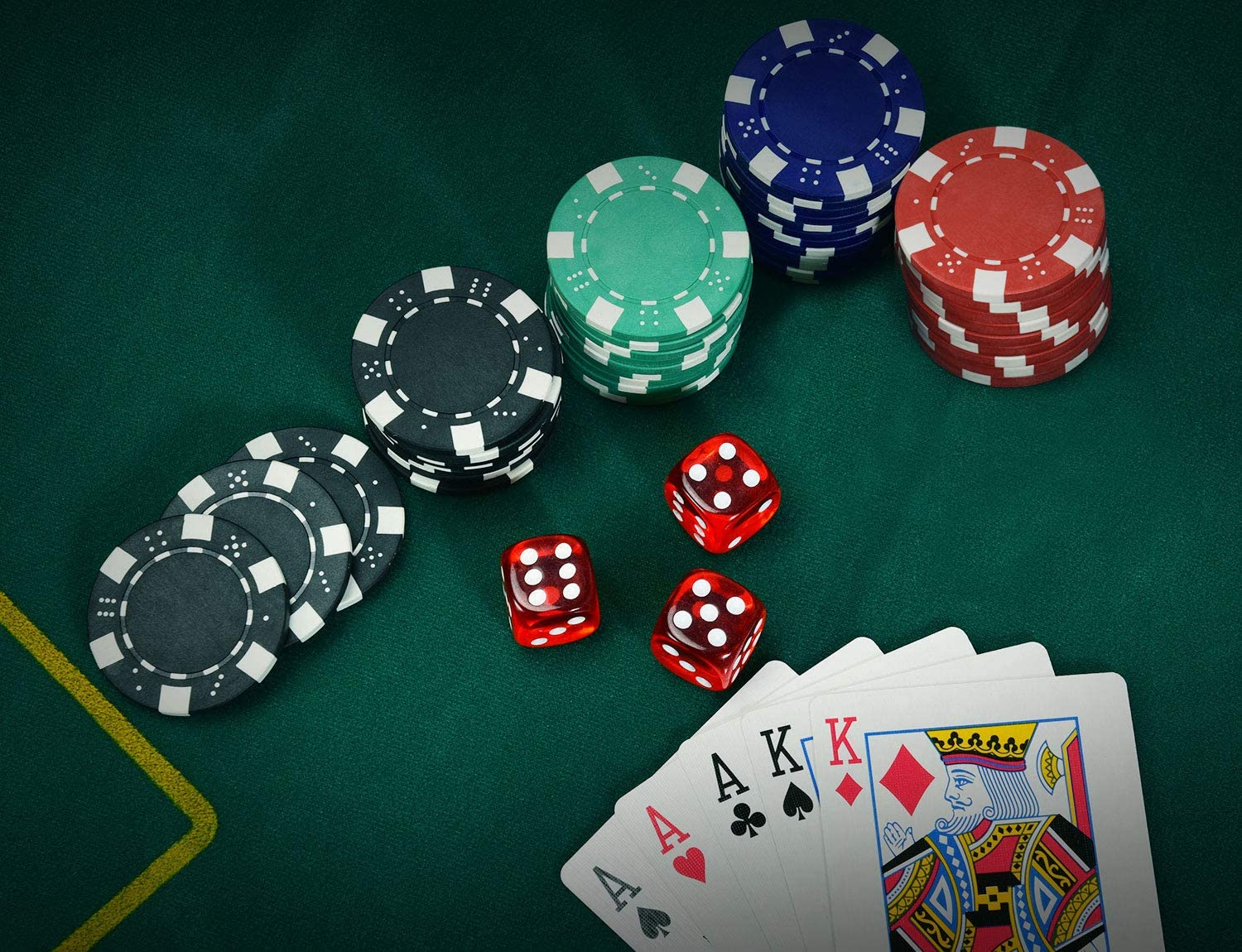 Poker chips tempo 58774