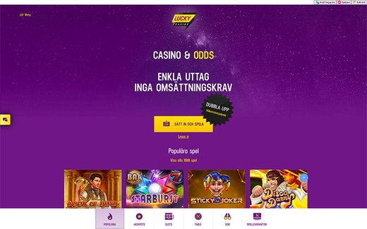 Lucky casino free spins 12028