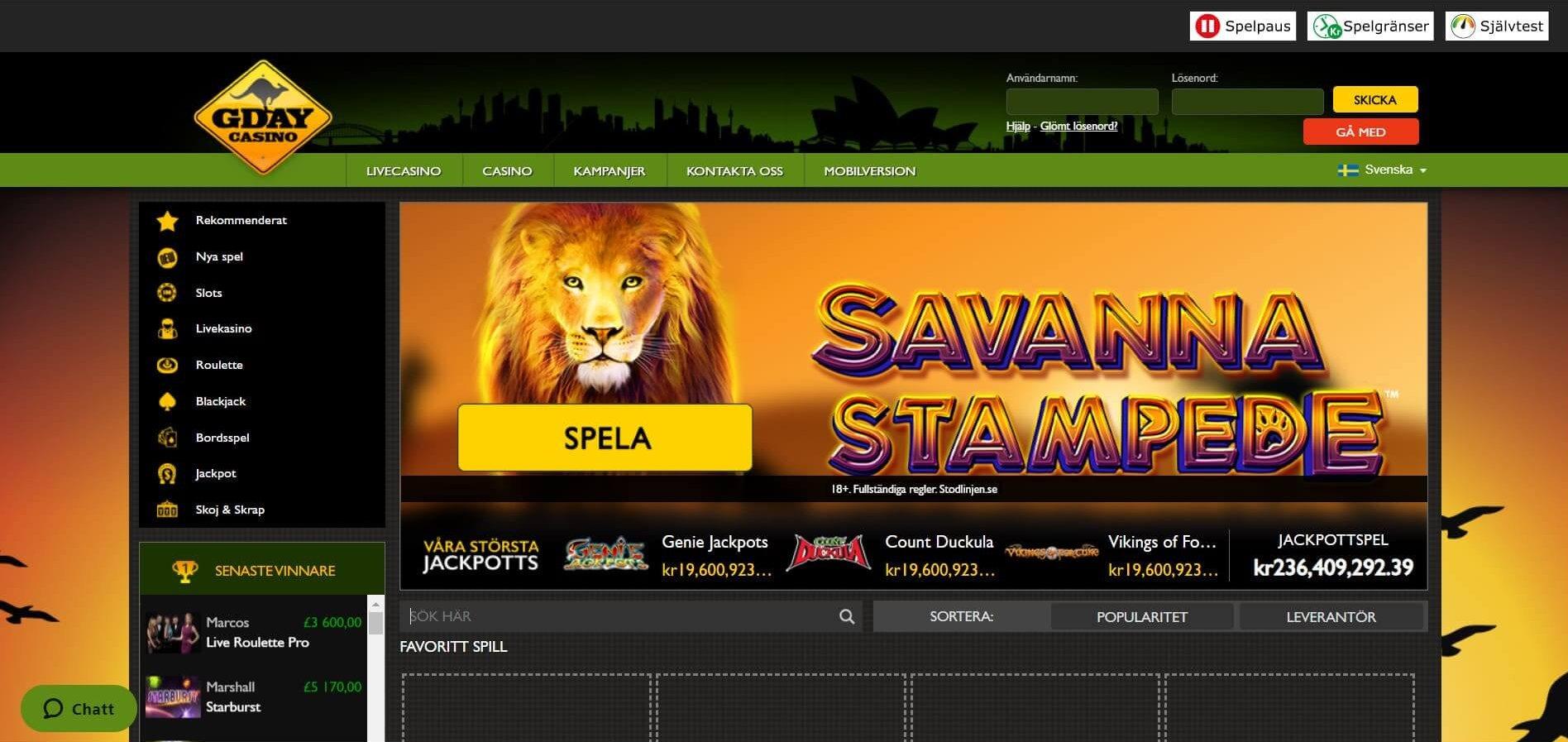 Bästa Skraplotterna Gday casino 43895