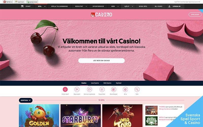 Svenska spel casino gratis 48898