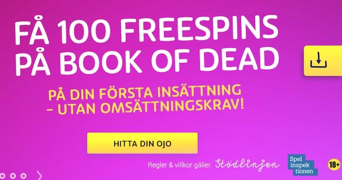 Firar med freespins 65923