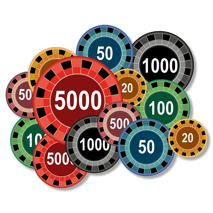 Roulette system svart rött 28486