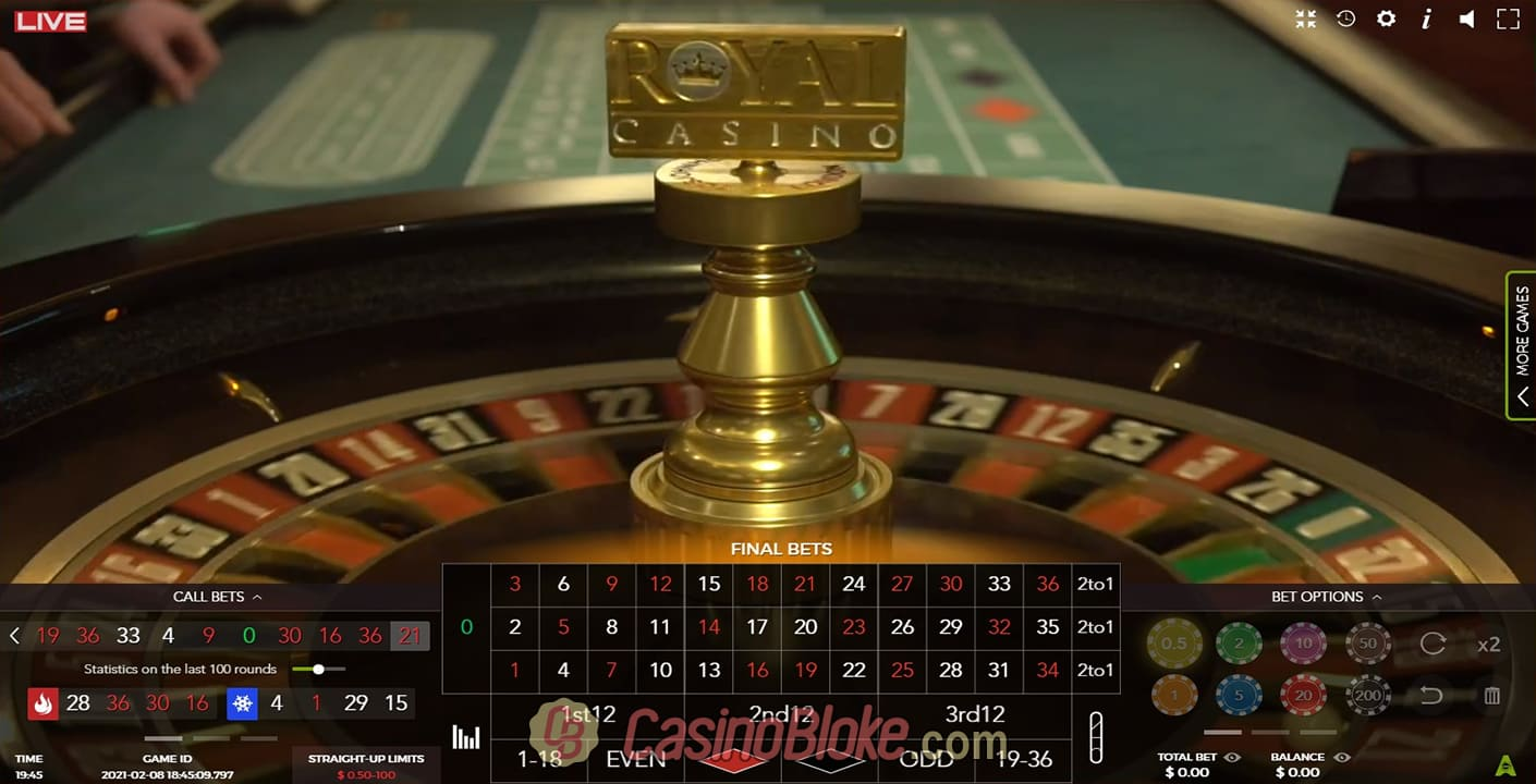 VIP roulette IGT casino 34848